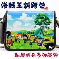 Messenger bag school bag canvas bag shoulder bag 100% cotton canvas luffy 9