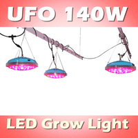 Cidly's production UFO 140W LED plant growing light, red 630nm: blue 460nm=8:1, full spectrum integrated (customizable)