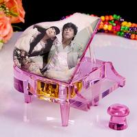 MP3 music box Crystal piano birthday DIY creative gift