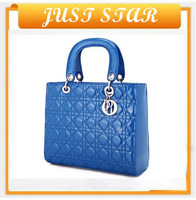 2013 hot sale fashion style with free shipping from shenzhen luxury brand PU fashion handbag for women