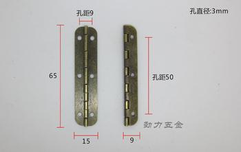 Long piano hinge/long row of archaize of hinge hinge
