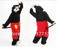 New Arrival!!! Lovely Mickey Mouse Anime Pyjamas Animals  Kigurumi Cosplay Costume Pajamas Unisex Adult Sleepwear Sleepsuit