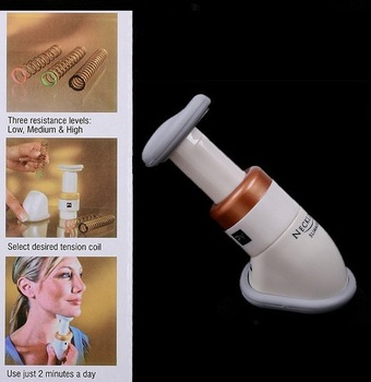 Brand new Portable Neckline Slimmer Neck Exerciser Chin facial Massager  Free shipping