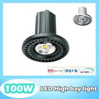 LED high bay light100W, 120lm/W, Bridgelux/ Cree, Mean Well driver, 2700~7000K, CE ROHS UL EMC GS