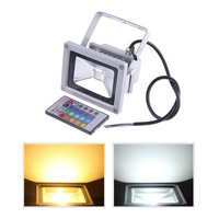 85V-265V 30W RGB LED 2700LM Outdoor Waterproof Floodlight Lamp