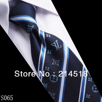 Top Quality ! Men's Fashion leisure or business Grids silk mens contrast ties #S065