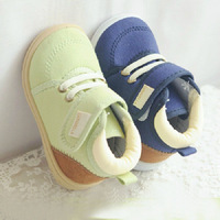 Superniva sale New 2013 spring and Autumn children's shoes baby boys girls High shoes canvas shoes