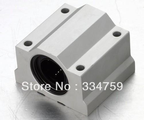 Free Shipping 4x SC10UU SCS10UU Linear motion ball bearings slide block bushing for 10mm linear shaft guide rail CNC parts(China (Mainland))