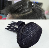 KB 1003 Free Shipping minimum order $10 (mixed items) popular Volume Hair Base Bump Styling Insert with clip Hairdisk head tools