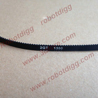 GT2 Belt, 6mm width, closed-loop 675 teeth 1350 mm in loop