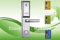 Wireless professional international standard stainless steel hotel intelligent rf card door lock