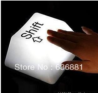 keyboard key light LED light lamp with USB cable freeshipping(China (Mainland))