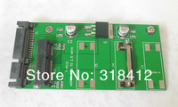 "5pcs/lot 50mm mSATA mini SATA SSD to 2.5"" 7+15Pin 22 pin SATA Converter Adapter mSATA-SATA Card"
