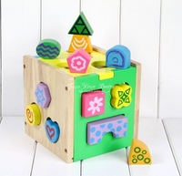 Intelligence toys digital geometry shape box wisdom box child baby educational toys 0 - 3 2