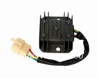 Voltage Regulator Rectifier For GY6 4Wires 3 phrase  motorbike Free shipping