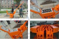 Interlock brick machines,hand pressed brick machines