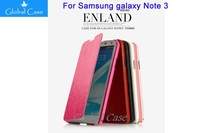 High-end Luxury 100% Original PU Flip Leather Case Cover For Samsung GALAXY NOTE III 3 N9000 N9005 Case With Retail Box