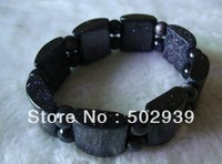 20mm*10mm*8mm natural bluesand stone bracelet 10pcs/lot