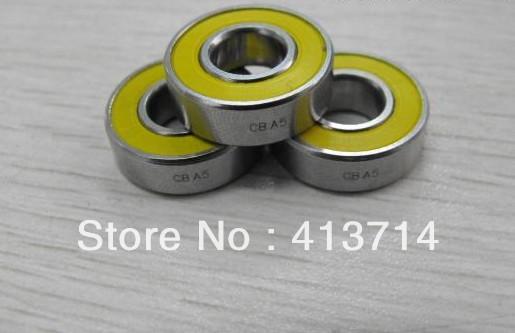 16 PCS/Lot hybrid ceramic bearings/bearing ceramic reel S698 2 rubber seals ABEC5 8x19x6mm FREE SHIPPING(China (Mainland))