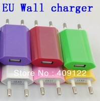 CN 20 pcs USB Wall Home Charger AC Adapter EU Plug for Apple iPhone 4 4G 4GS 4S 5 5S 5C,good quality item