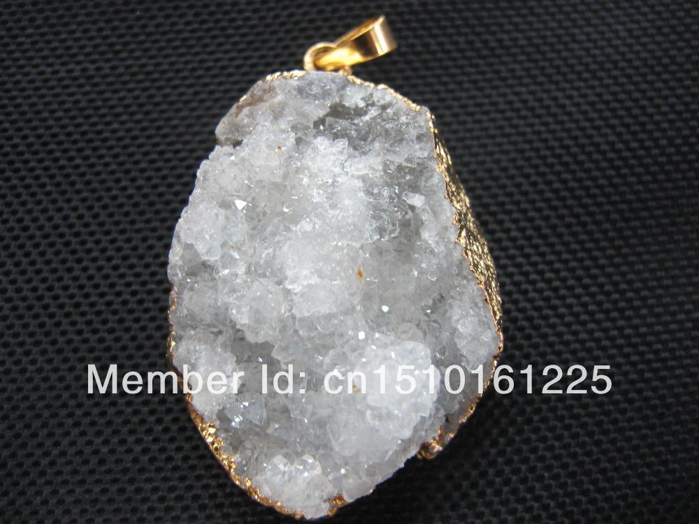 quartz drusy Gem stone...