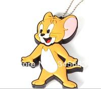 32GB 16GB 8GB 4GB 2GB Cartoon USB Memory Boot Disk Portable USB Stick Flash Drive Mouse USB  Free Shipping