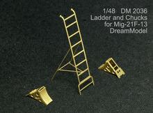 dreammodel 1/48 2036 mig-21f-13 mig-21 escada trompetista pe para mandris(China (Mainland))