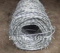 Barbed Wire, In Roll, Each Coil 25Kg, Wire Gauge12*13mm, Galvanized Wire Or Low Carbon Steel Wire