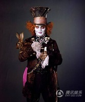 New Arrival  Cos Cosplay stage Costumes gorgeous performance clothes Mad Hatter full set