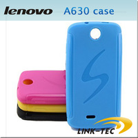 Free shipping Anti-slip Matt S Line TPU Soft Case For Lenovo A630 Phone 5 Colours LT18