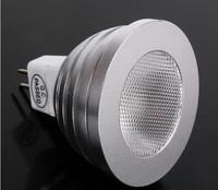 5pcs/lot+5w MR16 RGB LED spotlight 12V GU5.3/MR16 350LM LED spot light with Remote Control free shipping