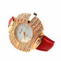 Luxury fashion female form diamond women's watch rhinestone table full rhinestone watch elegant ladies watch