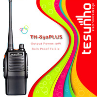 TESUNHO TH-850PLUS high power for Music Festivals exceptional quality performance durability professional police two way radio