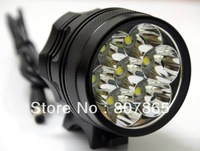 9000Lumen 7 X CREE T6 Bicycle Light Bike Lamp+ 8400mAh 6 x 18650 Batteries Pack Free Shipping