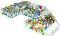 Tincool Amusement Happy Castle Themed Large Size Well Designed Indoor Soft Playground Equipment Amusement Park