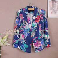2013 women's autumn outerwear vintage fashion elegant slim blazer