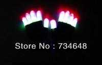 LED  Colorful Light Show Gloves