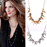 Fashion Jewelry For Women 2013 New The Trend Of Punk Rivet Short Design Necklace (Min Order=$10)