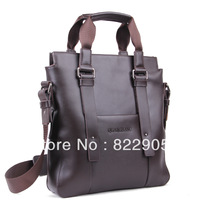 Famous brand male commercial handbag casual shoulder messenger bag high quality briefcase genuine leather