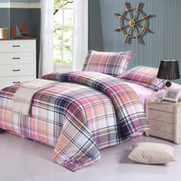 Kate 100% home textile cotton four piece set satin reactive print 1.5 meters 1.8 meters bedding