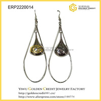 free shipping new style factory directly supply water drop earrings