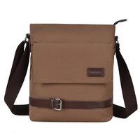 2013 male backpack bag messenger bag canvas bag middle school students bag shoulder bag