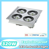 Debut! Best quality 320W high power led explosion proof light, led high bay coal mine and gas station, Cree chip, MeanWell power