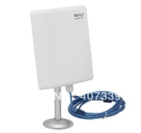 free shipping 50pcs/lot USB wireless card Outdoor high power waterproof directional antenna with 5meters USB extend line