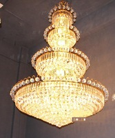 Modern Chandelier Crystal Chandelier 4-floors Lamps for Home Villa Lamp Hotel Chandelier Crystal Lamp L-Large Size Free Shipping