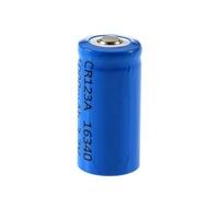 10pcs CR123A 123A 16340 3.7V 1000mAh Li-ion Rechargeable Lithium Battery Free Shipping Wholesale