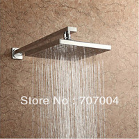 Free Shipping Wholesale And Retail ABS 8 Inch Rain Shower Head Top Sprayer With Brass Shower Arm Bar