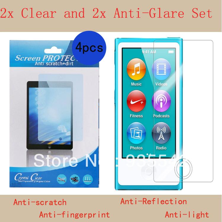 Защитная пленка для мобильных телефонов 4 2 x 2 x Apple ipod Nano 7 7 MP3 защитная пленка для мобильных телефонов 9h 0 3 2 5d gen motorola moto x 2 x 2 x 1 xt1097