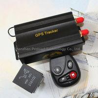 gps & accessories security product gps tracker tk-103b with remote control , optional siren , shock sensor rastreador