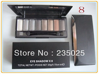 2013 HOT SELLING!!! (#8)MC 8 color eyeshadow eye shadow makeup palette Dropshiping free shipping